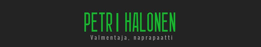 Coach Petri Halonen logo